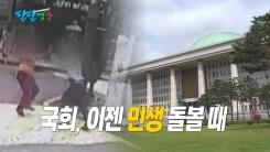[팔팔영상] '궁중족발' 폭행 사건, 자유한국당 탓?