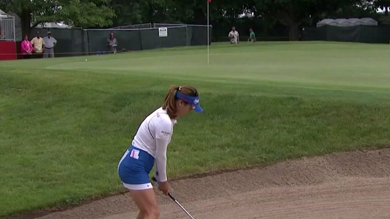 유소연, LPGA 투어 마이어 클래식 이틀 연속 선두