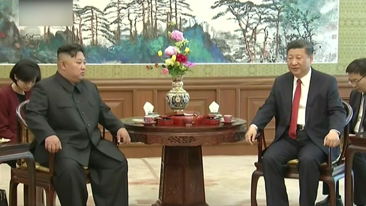 김정은, 이틀 연속 시진핑 만나 돈독한 관계 과시
