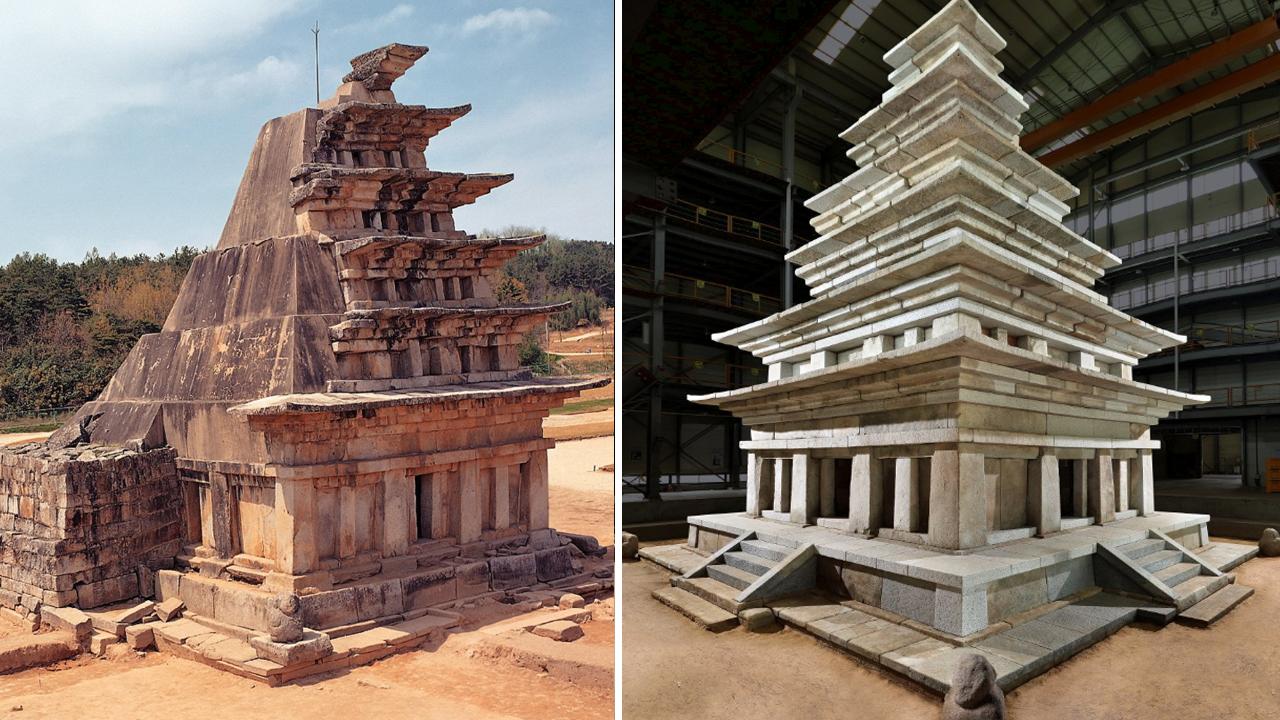 익산 미륵사지석탑, 장장 20년에 걸친 수리 완료