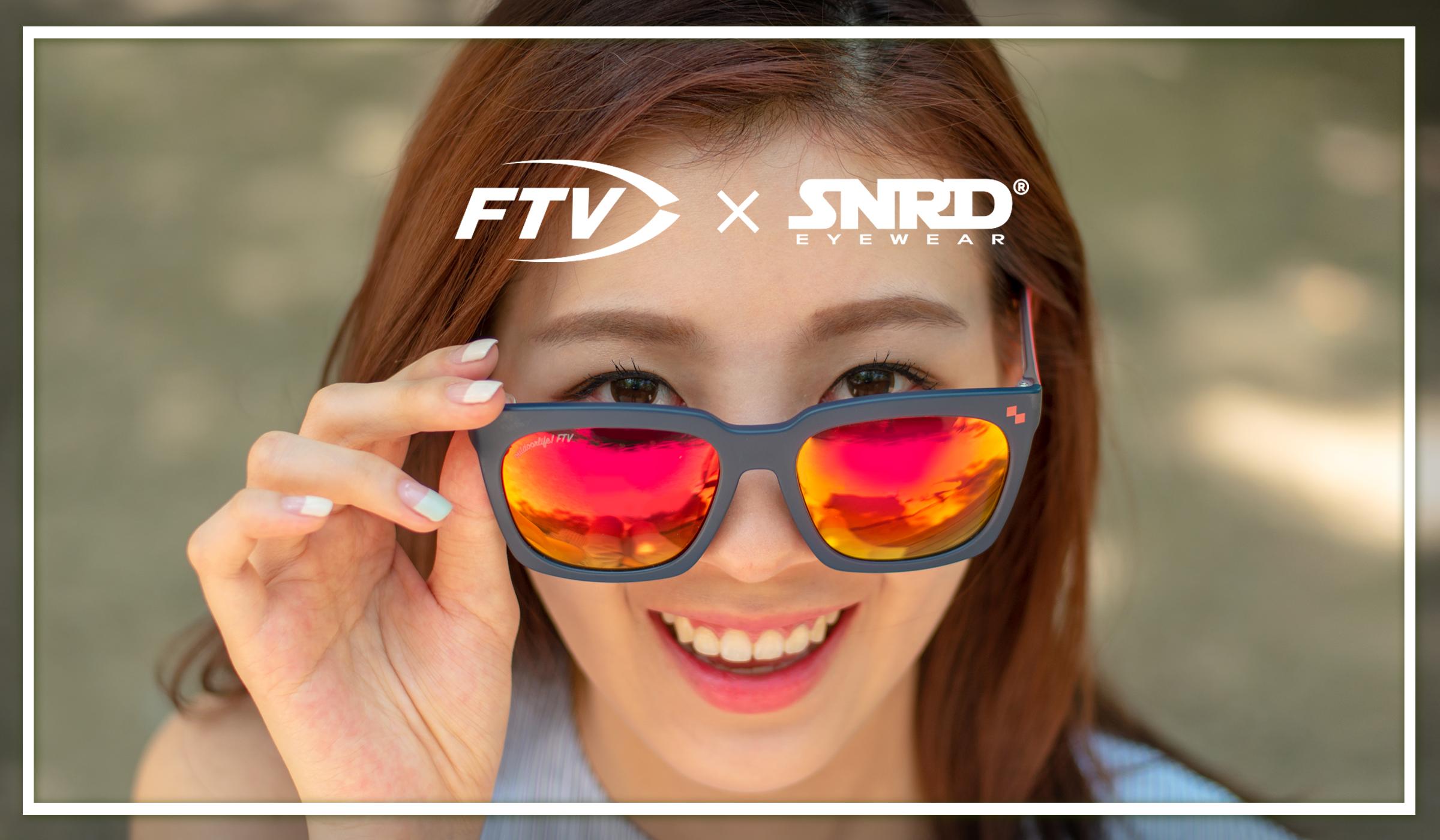 FTV×SNRD 리미티드 에디션 기능성 패션 선글라스 출시...낚시 마니아에게 인기 예상