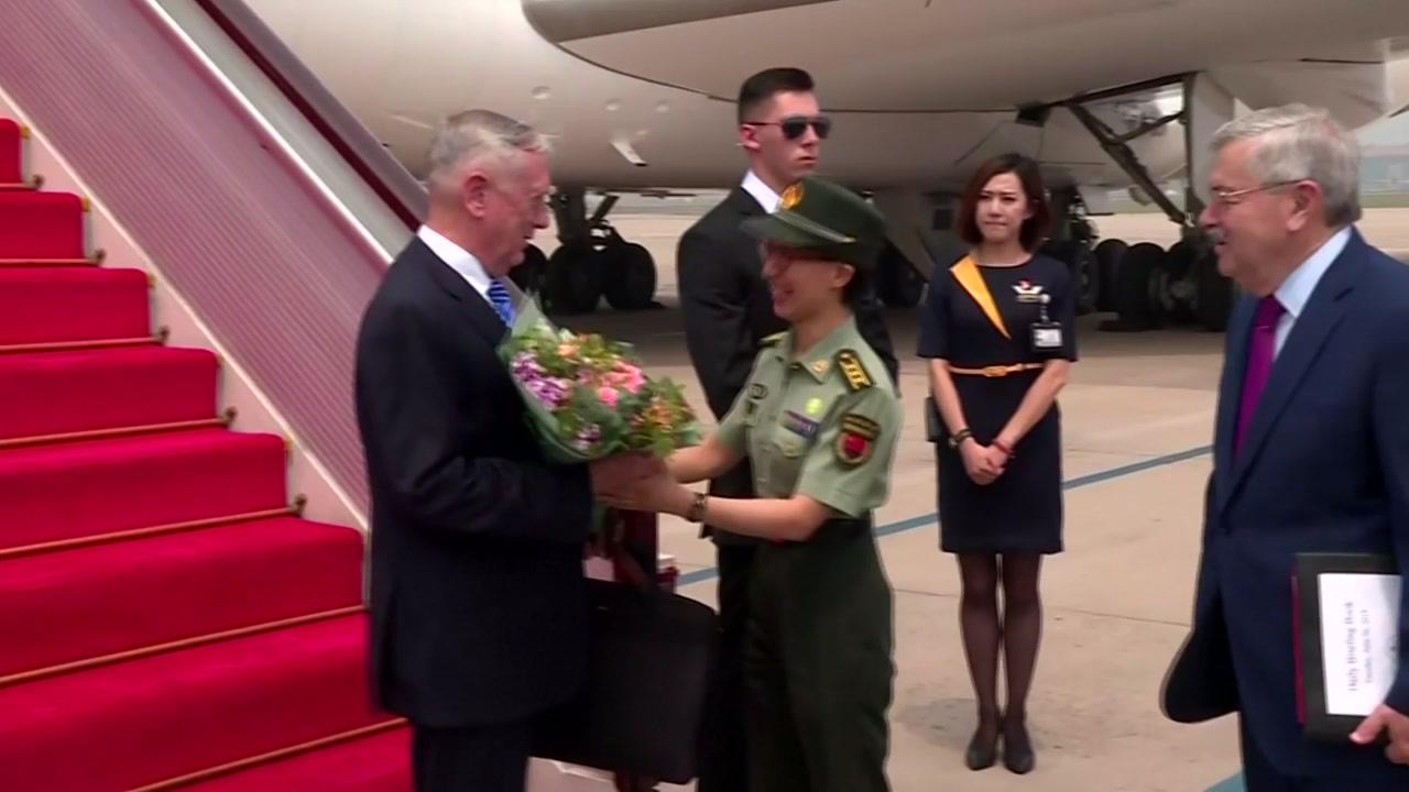 매티스 美국방, 베이징 도착...비핵화 대북 압박 요구할 듯