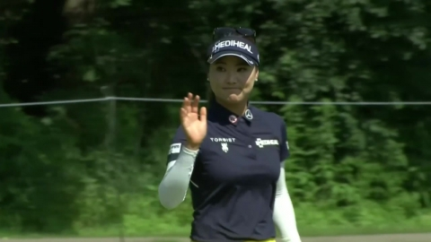 유소연, KPMG 여자 PGA챔피언십 3R 이틀째 선두