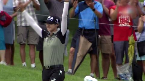 박성현, 연장전 끝에 PGA 챔피언십 우승...메이저 2승