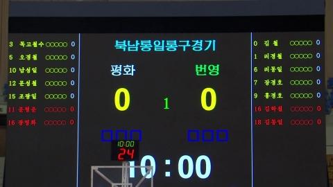 15년 만의 농구 교류...남북 단일팀 손발 맞춘다!