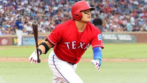 추신수, 홈런으로 44경기 연속 출루...MLB 아시아 선수 신기록