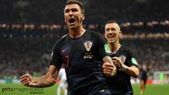 크로아티아, 연장 혈투 끝 잉글랜드 꺾고 사상 첫 결승 진출