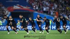 '3경기 연속 연장 혈투' 크로아티아, 기적의 역전승...사상 첫 결승행