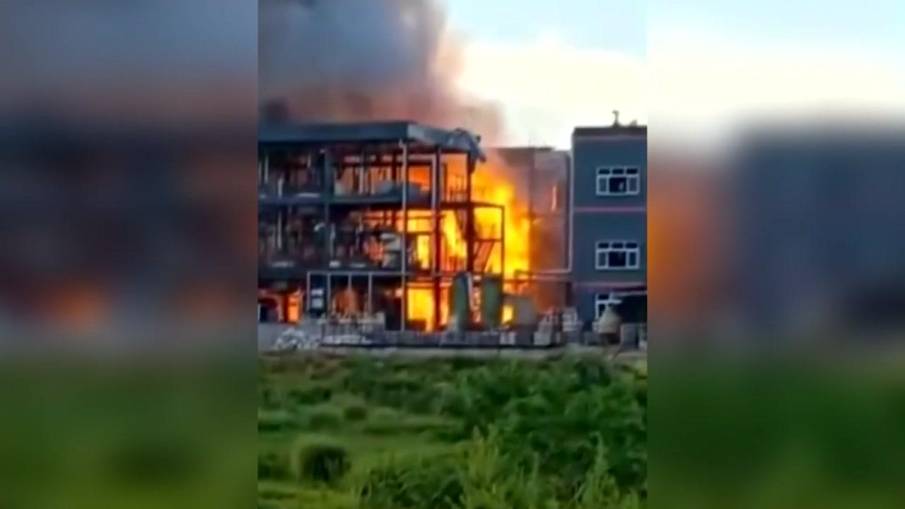 中 쓰촨성 화학공장 폭발...19명 사망