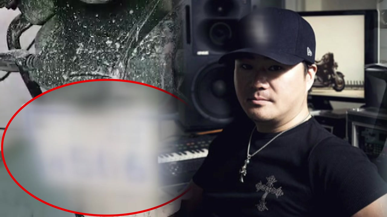 [단독] SM 유영진, 미인증 오토바이 번호판 바꿔달고 '활보' 들통