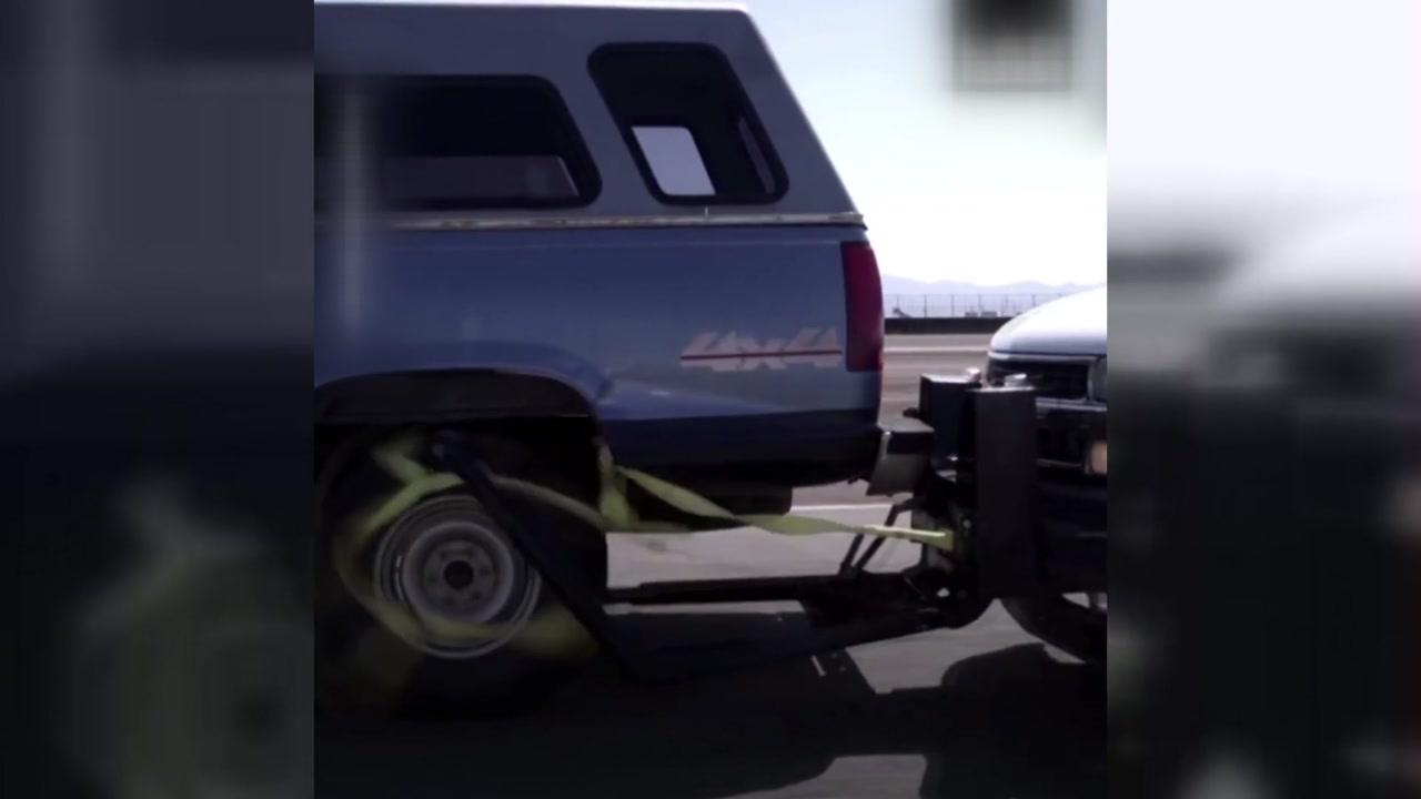 '묻지마 도주 차량'...미국 경찰이 검거하는 방법