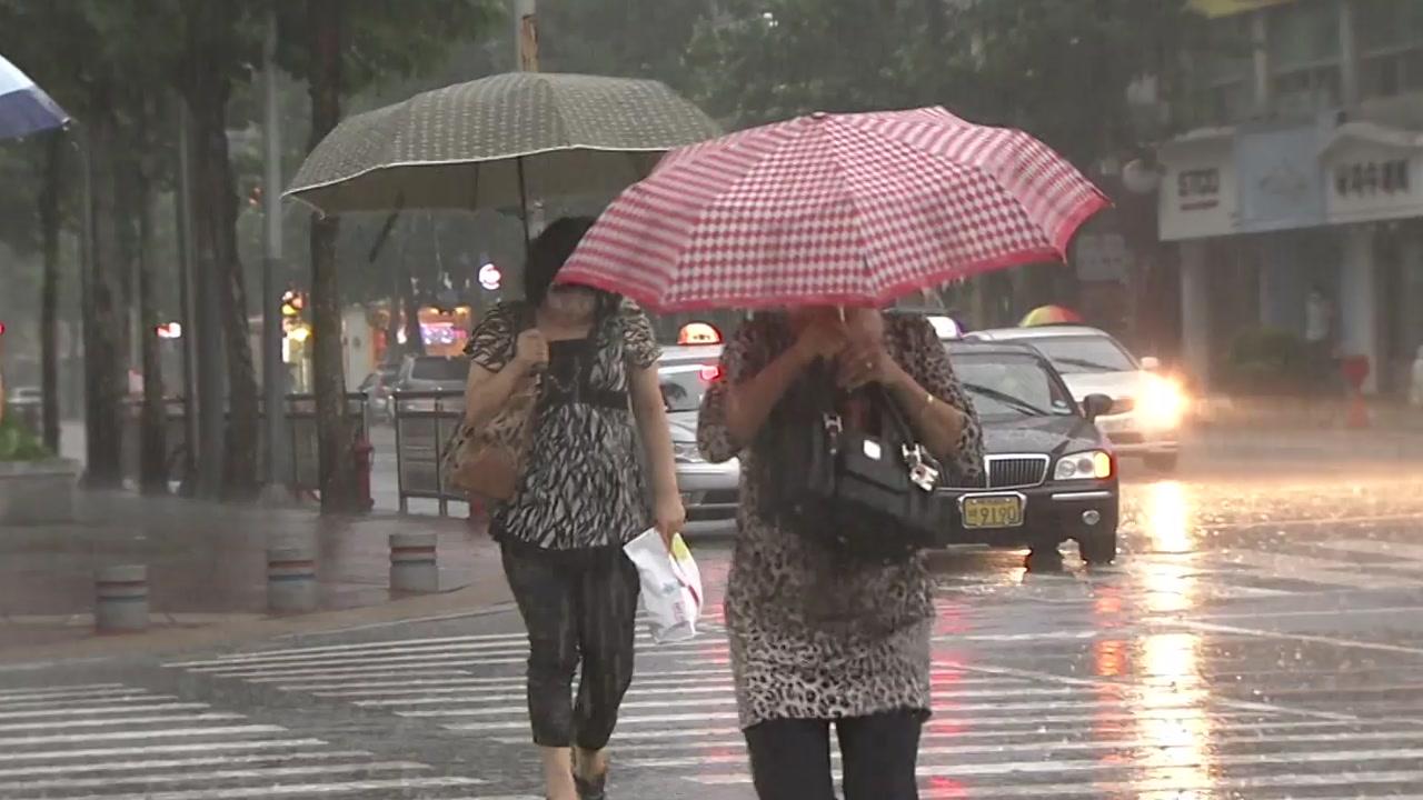 [날씨] 주말 소나기, 내일 동해안 비...폭염 계속