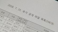 '재판거래 의혹' 미공개 문건 공개...후폭풍 부나