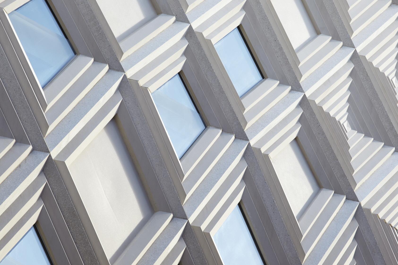 〔안정원의 건축 칼럼〕 지역의 맥락성을 고려한 입체적인 파사드와 다이어그리드 패턴 공간 6