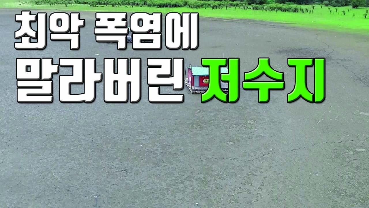 [자막뉴스] '최강 폭염'에 바닥 드러낸 예당저수지