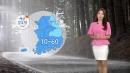 [날씨] 태풍 '야기' 중국으로...폭염 속 소나기
