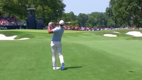 타이거 우즈,  PGA챔피언십 3R 4타 차 공동 6위