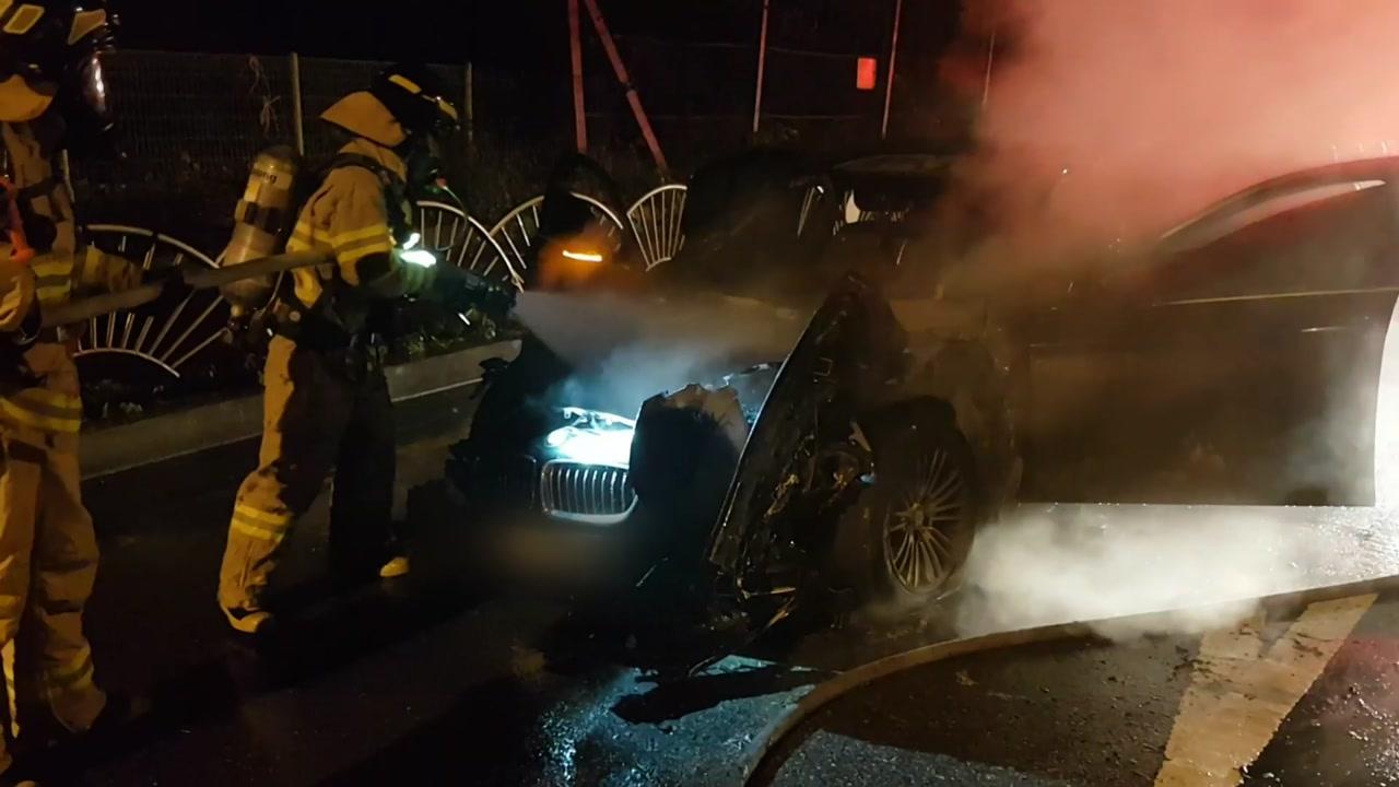달리던 BMW 520d 또 불...리콜 대상 차종