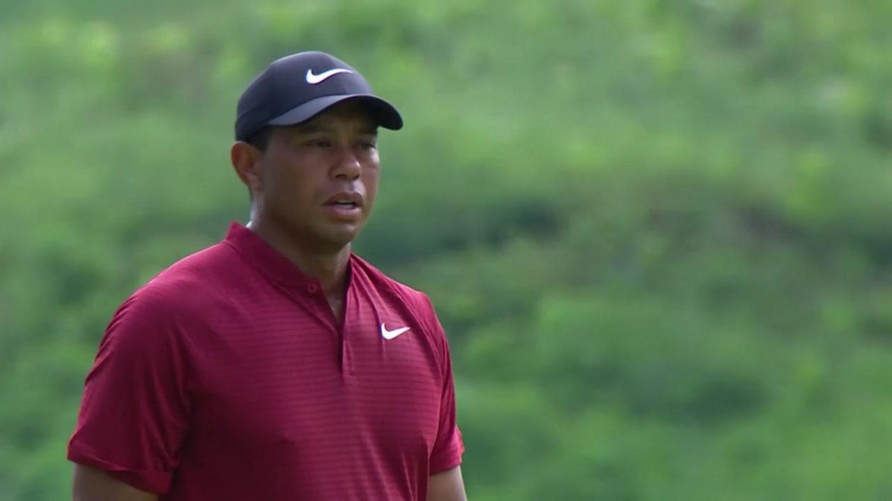 '완벽 부활' 타이거 우즈, PGA챔피언십 준우승...켑카, 메이저 2승
