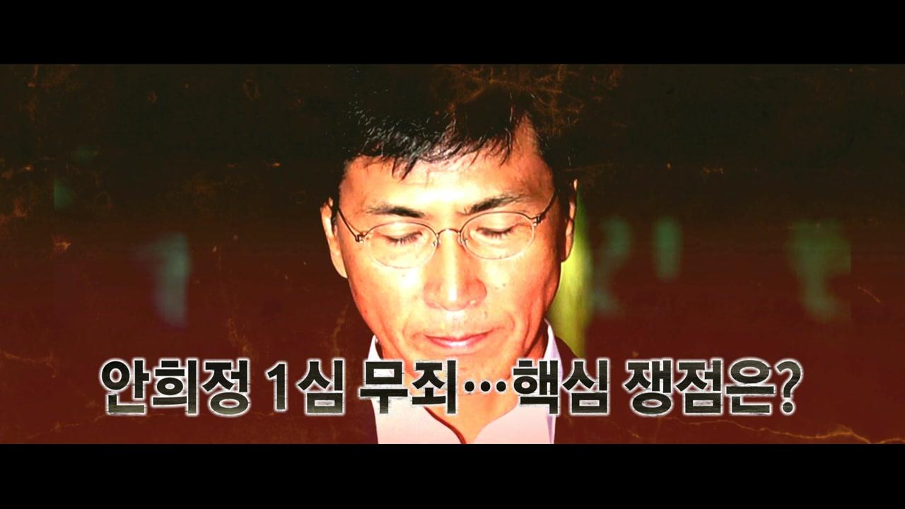 안희정 '성폭력' 무죄 선고에...희비 교차