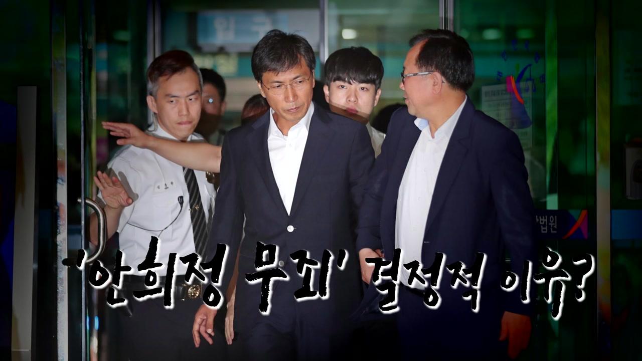 """'성폭행 혐의' 안희정 무죄...""""위력 없었다"""""""