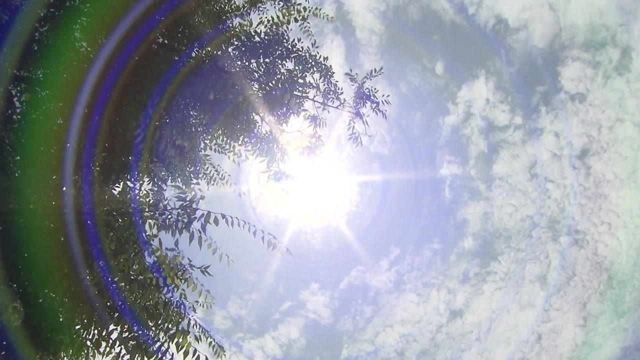 [날씨] '말복' 서쪽 35℃ 폭염...영동·남부 많은 비