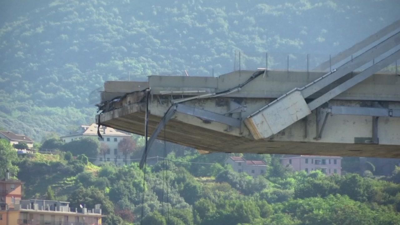 이탈리아 제노바 '교량 붕괴 참사' 원인 조사 시작
