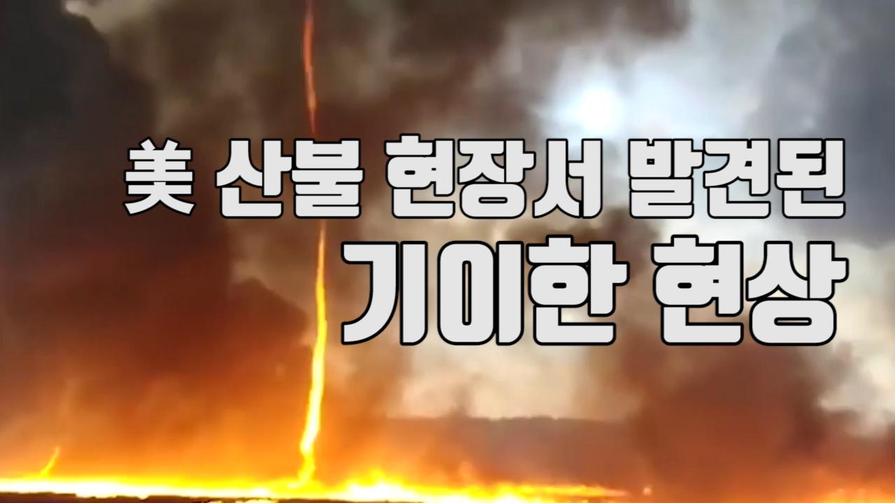 """[자막뉴스] """"괴물"""" 美 산불 현장서 발견된 기이한 현상"""