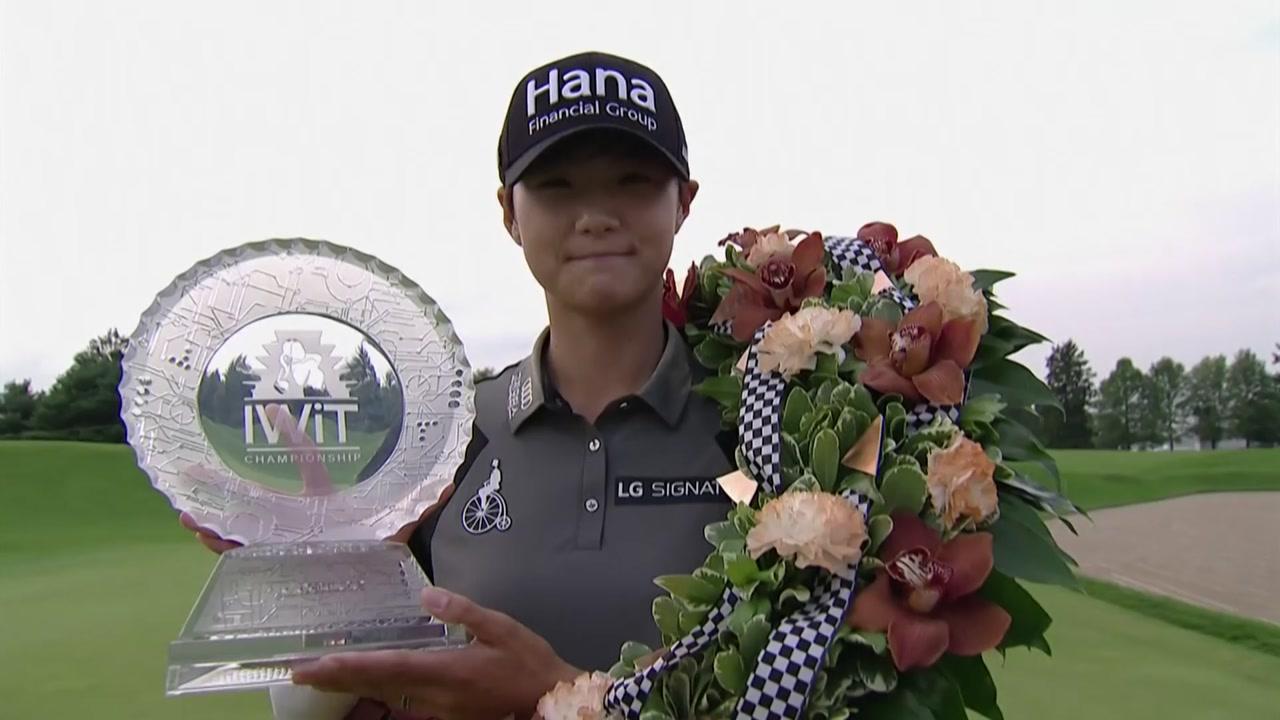 박성현, LPGA 투어 올 시즌 3승...세계 1위 복귀