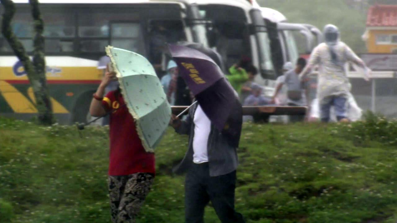 [날씨] 태풍 '솔릭', 폭우보다 '강풍'에 대비하라