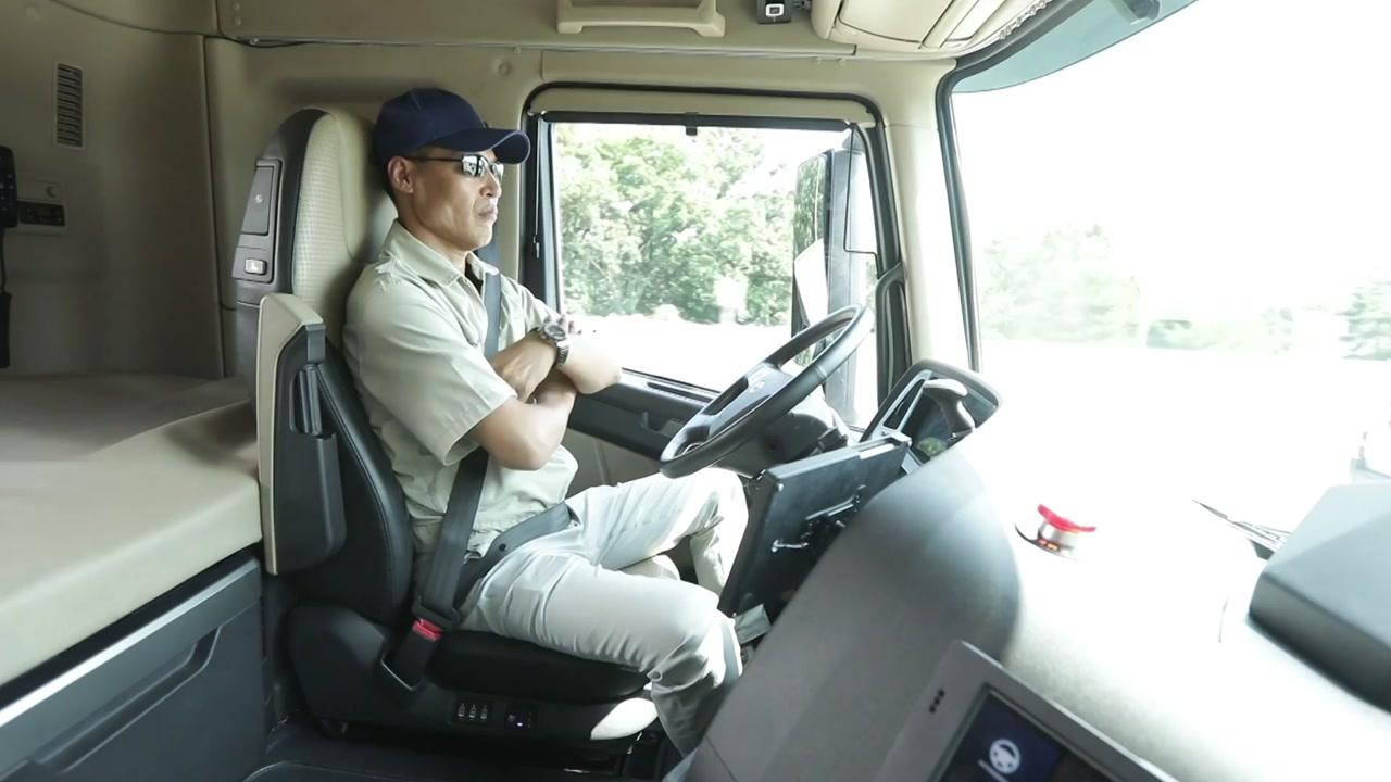 [기업] 현대차, 대형트럭 고속도로 3단계 자율주행