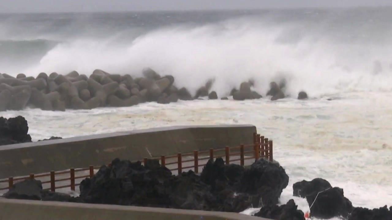[날씨] 태풍 '솔릭' 한반도 강타...중부 관통한다