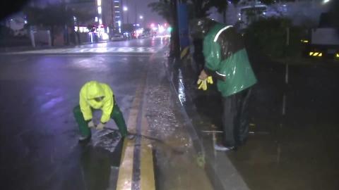 [속보] 태풍 '솔릭' 밤 11시 전남 목포 부근 상륙