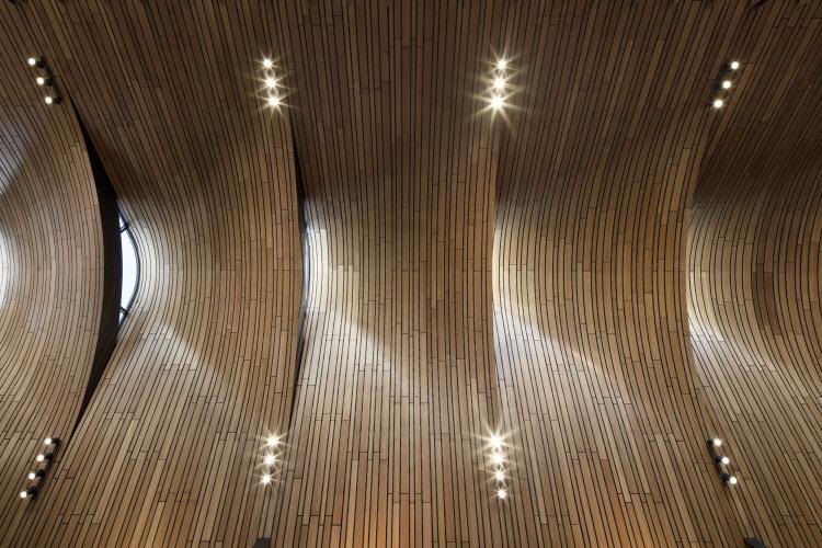 〔안정원의 건축 칼럼〕 갈비뼈를 연상케 하는 매스, 자연을 담은 쇼핑 환경과 친환경설비 4