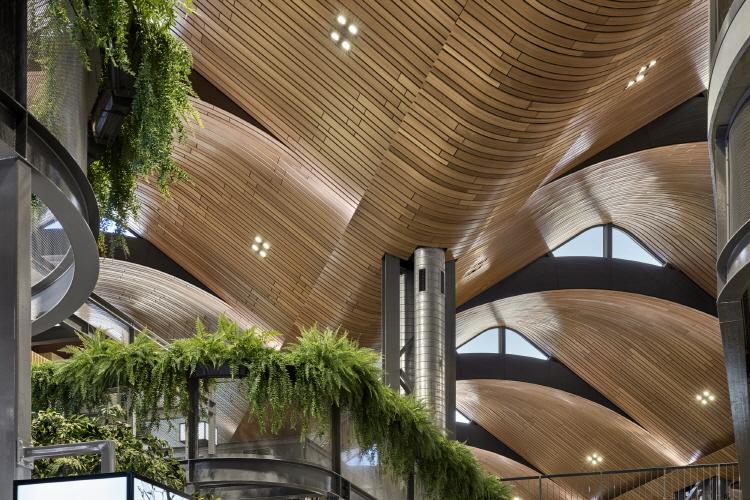 〔안정원의 건축 칼럼〕 갈비뼈를 연상케 하는 매스, 자연을 담은 쇼핑 환경과 친환경설비5