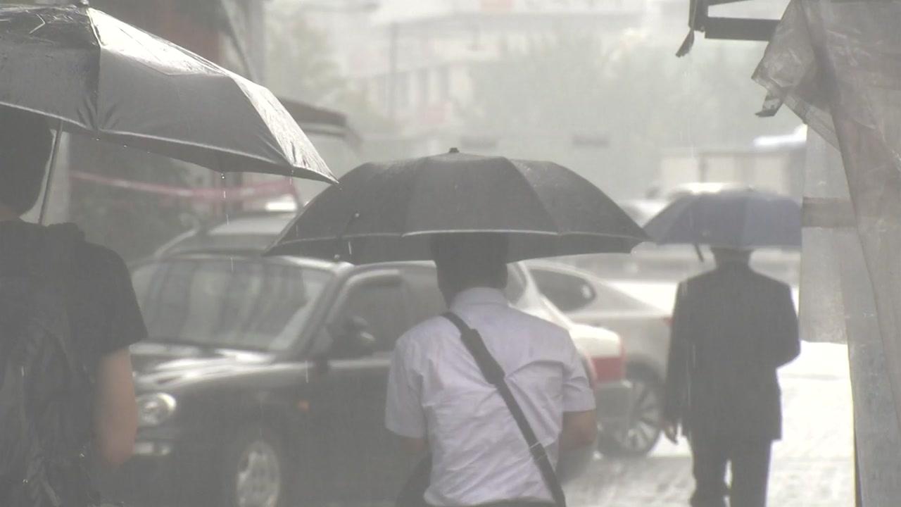 [날씨] 전국 돌풍·벼락 동반 비...많은 곳 200mm↑