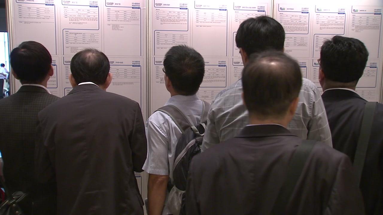 '경제 허리'가 무너진다...30~40대 일자리 급감