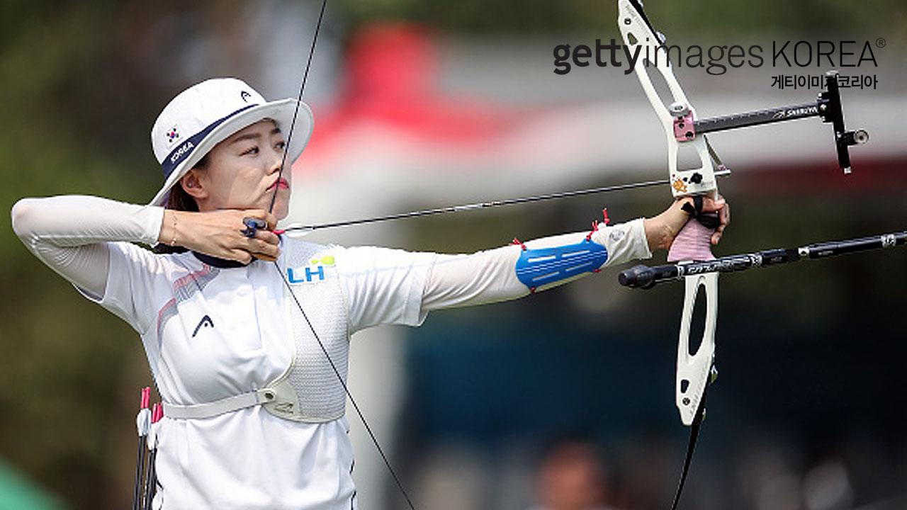 한국 여자양궁 우승...축구 우즈벡전_이미지