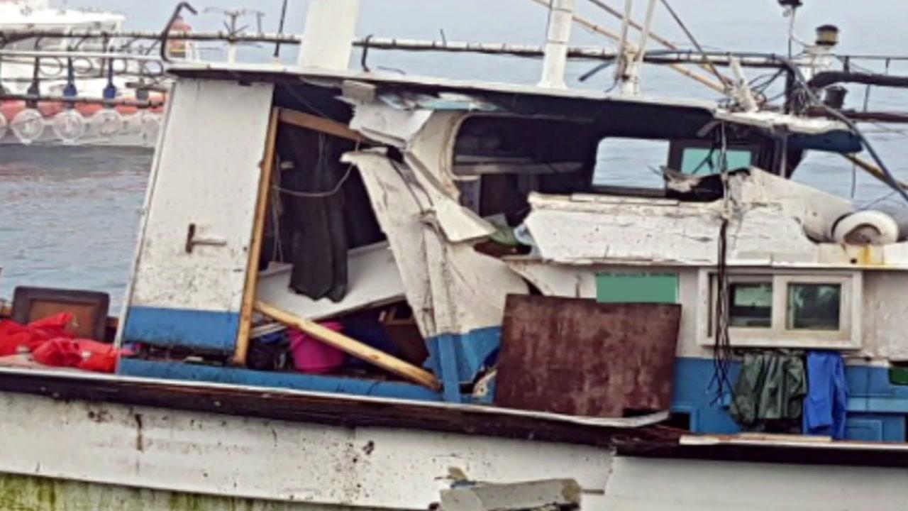 제주 해상에서 선박 충돌사고 잇따라...2명 부상