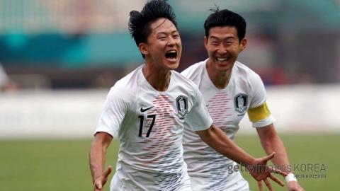 남자 축구 결승 진출...이승우 황의조 득점포