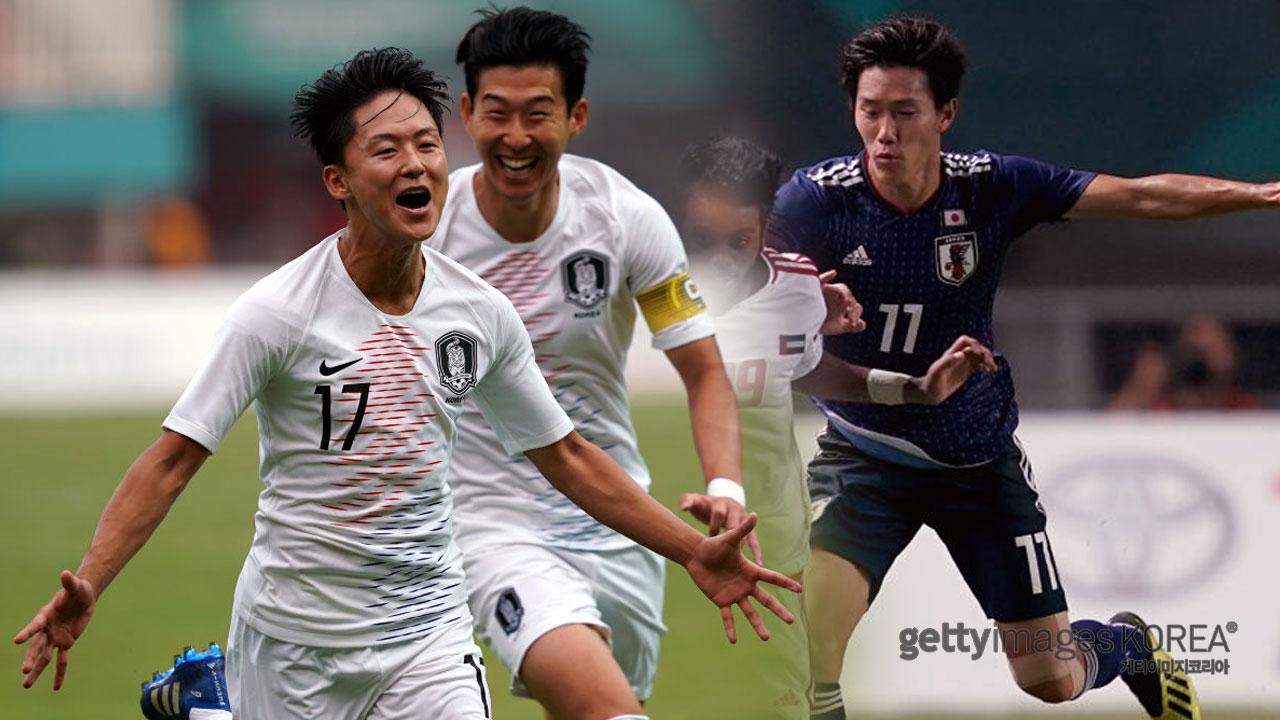 AG 남자축구, 결승 진출...운명의 한일전