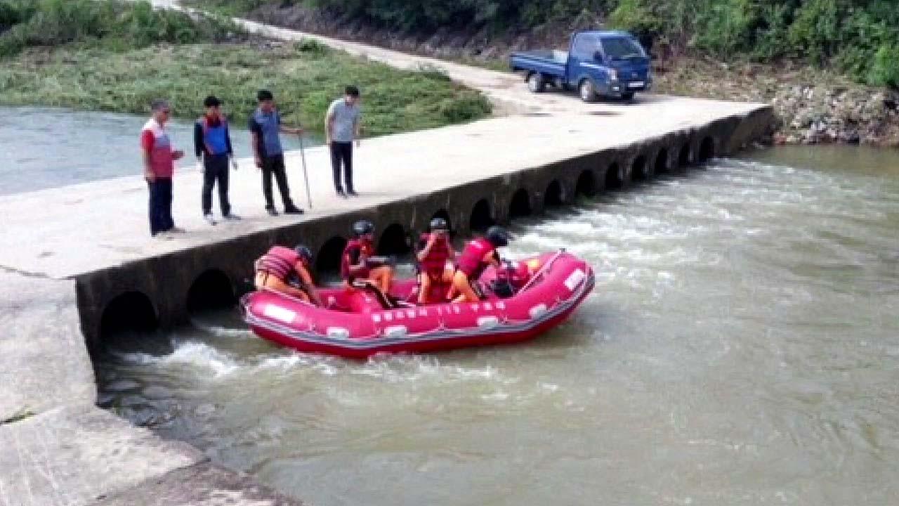 400mm 폭우 내린 강원 철원 60대 여성 실종