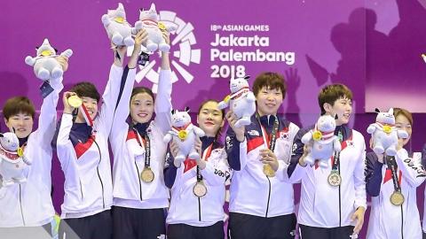 여자 핸드볼, 중국 꺾고 2회 연속 금메달