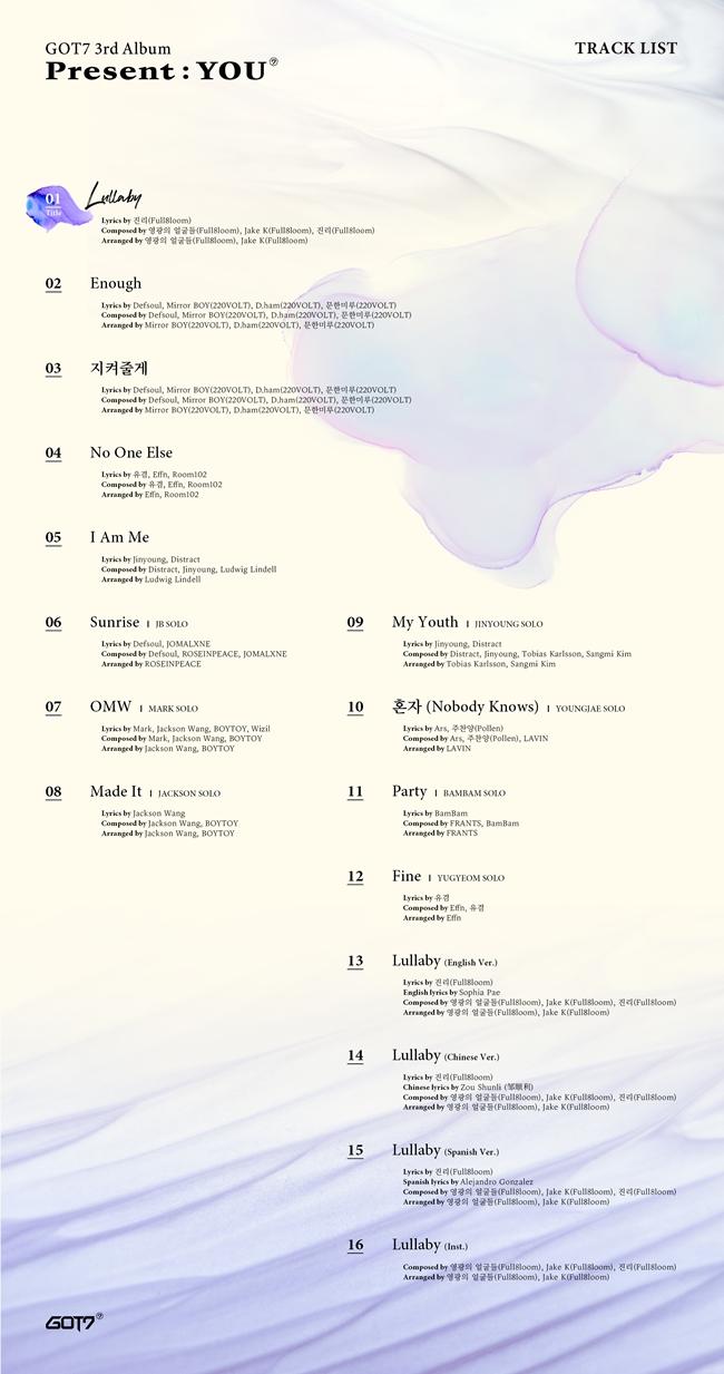 갓세븐, 컴백 타이틀곡은 '럴러바이'…4개국 언어로 공개