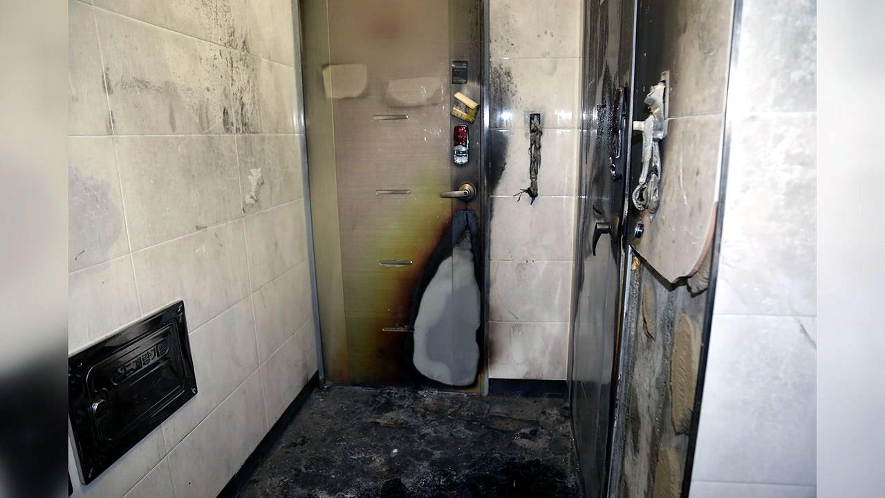 거제 다가구 주택에서 방화 추정 화재