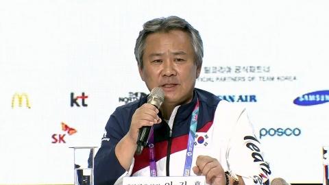 """이기흥 체육회장 """"병역 혜택 논란...마일리지 제도 논의"""""""