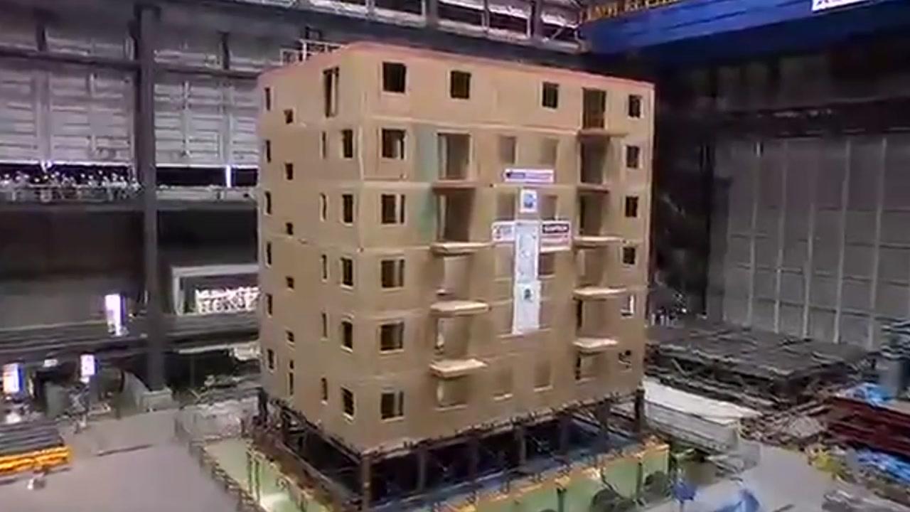 """주목받는 목조 건물...""""콘크리트 보다 지진에 강하다"""""""