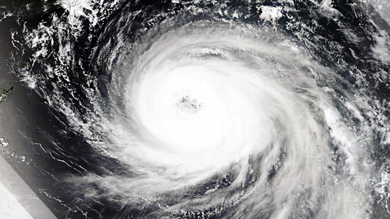 태풍 '제비' 일본 도쿠시마현 남부에 상륙