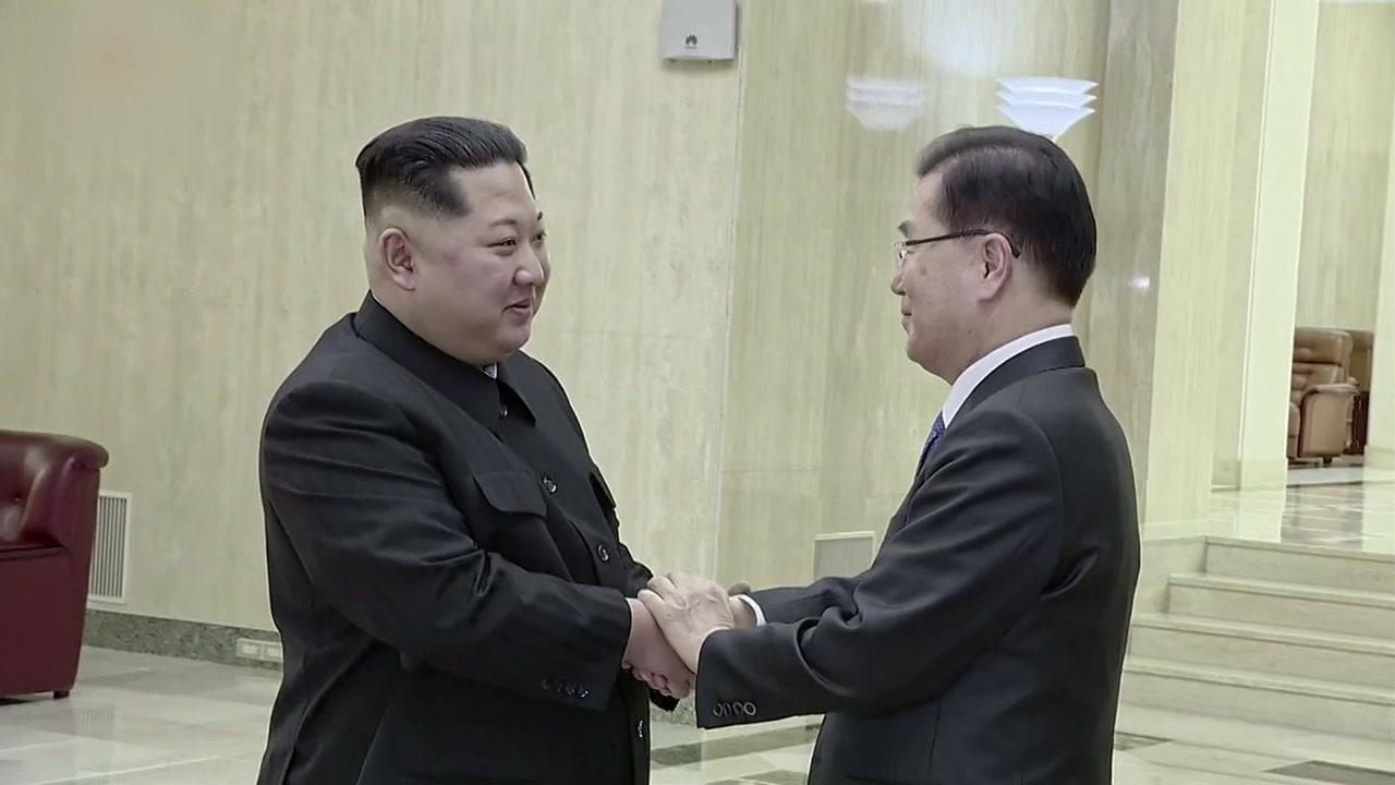 """대북 특사 내일 방북...""""문 대통령 친서 휴대"""""""