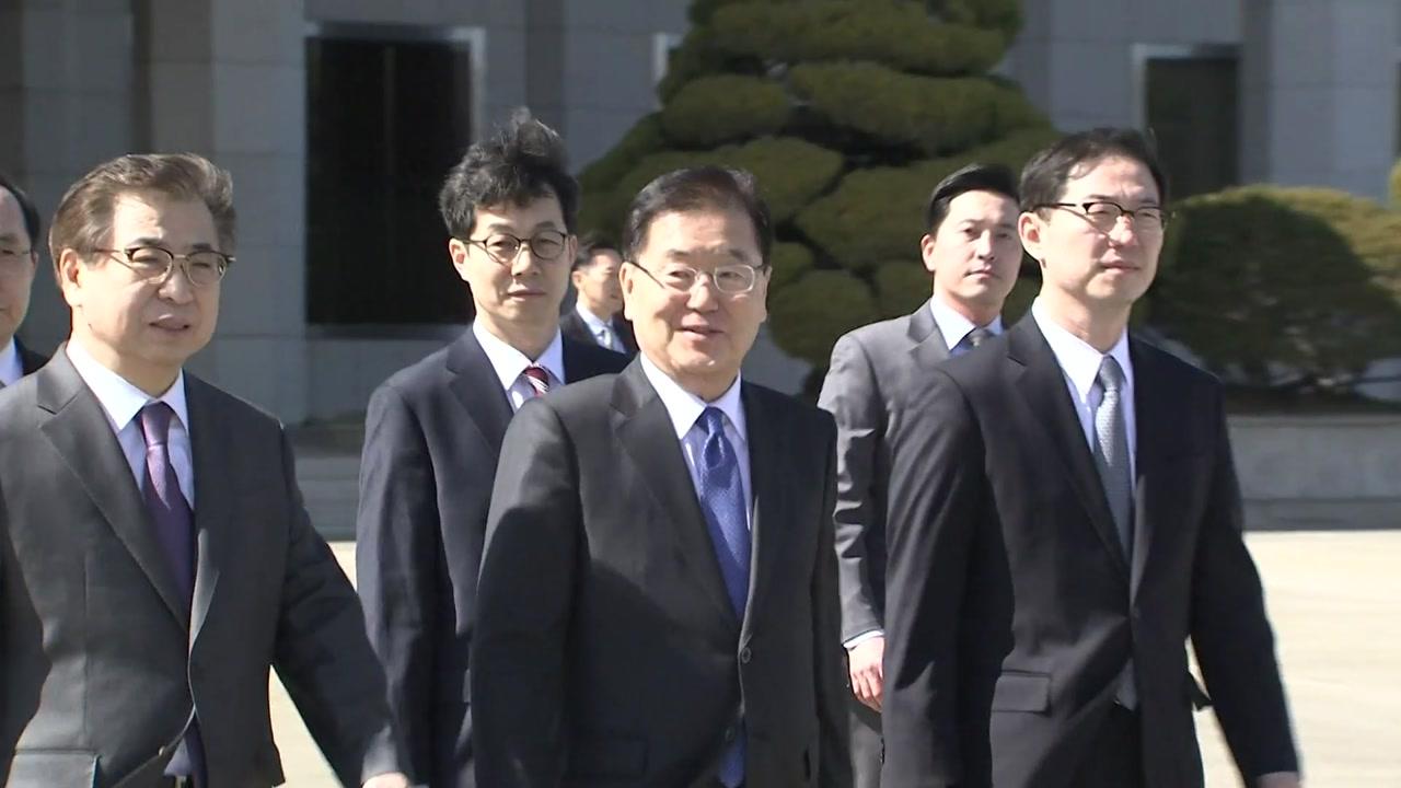북미 중재 성공할까...김정은 면담도 관심